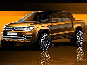 Volkswagen Amarok 2017, primeras imágenes