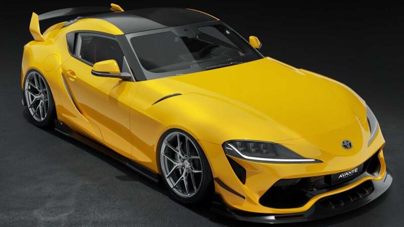 Avante ensaya diseño para el Toyota Supra, el render luce bastante atractivo