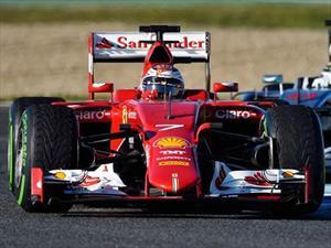 Kimi Raikkonen y Ferrari lideran las primeras pruebas