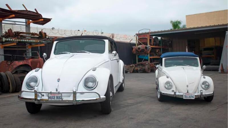 Este Volkswagen Escarabajo es tan grande como una pickup