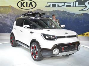 Kia Trail'ster e-AWD concept, la posible versión 4x4 del Soul