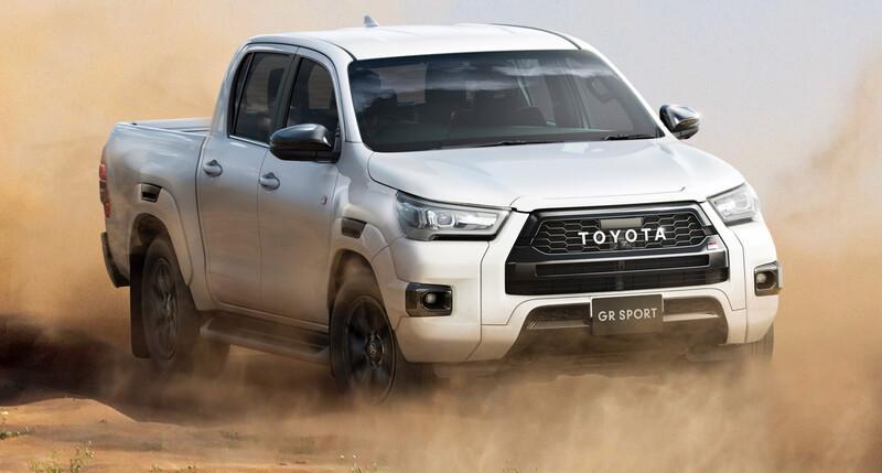 Toyota Hilux GR Sport vuelve a presentar rediseño
