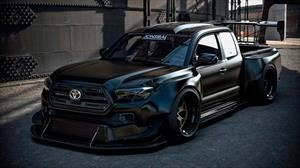Toyota sobrealimenta a una pick up Tacoma, con 900 caballos