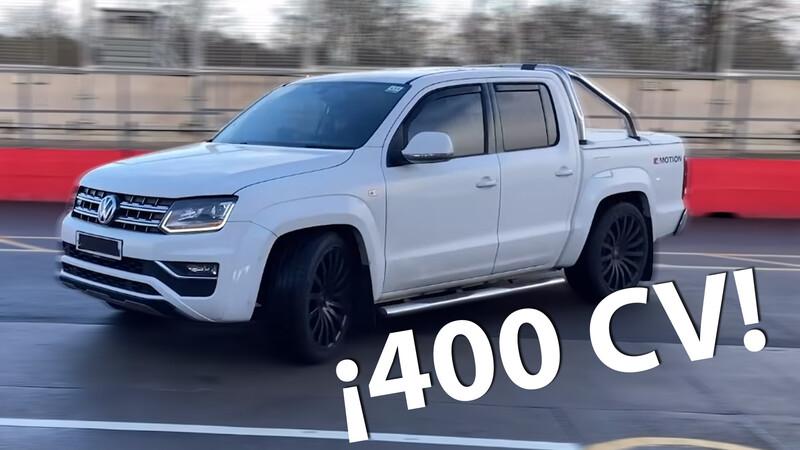 Volkswagen Amarok con 400 CV ¿Te animás?