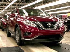 Nissan Murano 2015 inicia producción