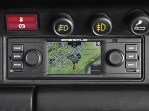 Sistema de navegación y audio para los Porsche clásicos