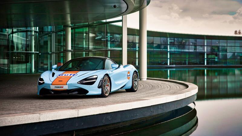 McLaren 720S recibe los clásicos y elegantes colores de Gulf