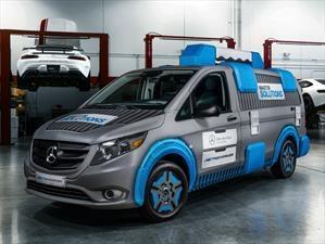 Mercedes-Benz presenta una van que funciona como una caja de herramientas