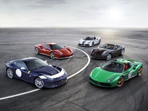Ferrari lanza 350 carros conmemorativos para celebrar su 70 aniversario