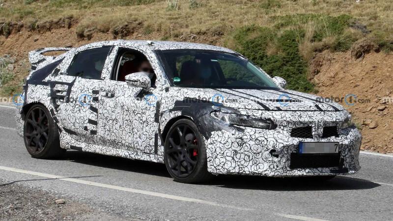 Futuro Honda Civic Type R se deja ver en Europa
