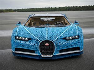 Conoce el Bugatti Chiron hecho con Lego que puedes manejar