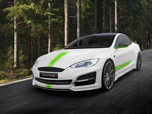 Tesla Model S por Mansory se presenta
