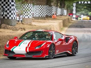 Ferrari 488 Pista debuta en Goodwood 2018
