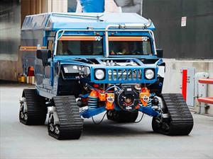 Zero South, una expedición con Hummers especiales