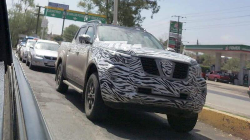 La renovada Nissan Frontier ya está en las calles