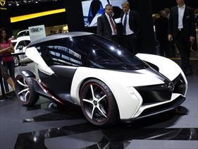 Opel RAK e-Concept debuta en el Salón de Frankfurt 2011