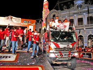 Hino gana el Dakar por quinta vez consecutiva