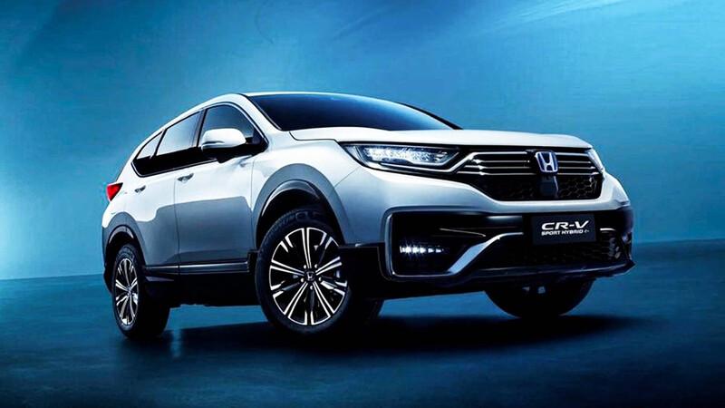 Honda CR-V Plug-in Hybrid debuta