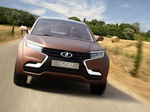 Lada XRAY debuta en el Salón del Automóvil de Moscú 2012
