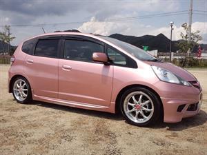 Honda Fit She's 2013, un subcompacto estilo kawaii