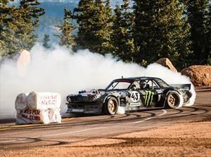 Video: Ken Block sube al Pikes Peak con su particular Ford Mustang