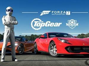 Top Gear Car Pack nutre con más deportivos la lista de Forza 7