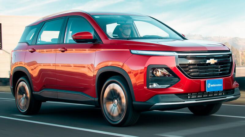 Manejamos la Chevrolet Captiva 2022