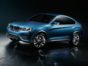 BMW X4 Concept se presenta en el Autoshow de Shanghái 2013