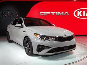 KIA Optima 2019 debuta