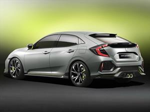 Honda Civic Hatchback Prototype, un vistazo a la futura generación