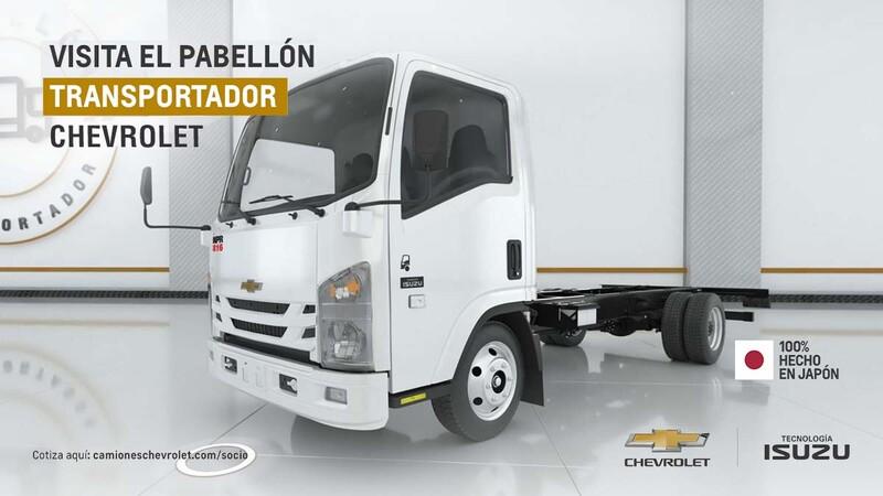 Chevrolet lanza un showroom 100% virtual para su división de camiones
