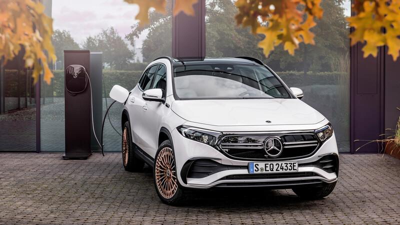 Mercedes-Benz EQA 2021, el eléctrico de acceso a la familia EQ