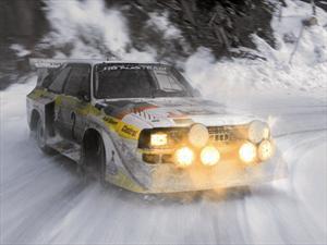 Autos Clásicos: Audi quattro