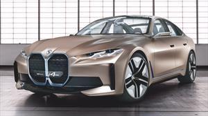 BMW Concept i4 adelanta a un futuro sedán eléctrico de alto desempeño