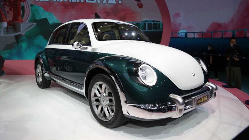 ORA Punk Cat es la interpretación china del VW Escarabajo