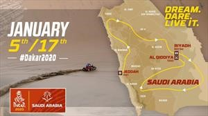 Este será el recorrido del Dakar 2020