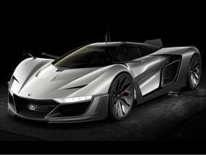 AeroGT Concept, un súper auto con el sello Bell & Ross