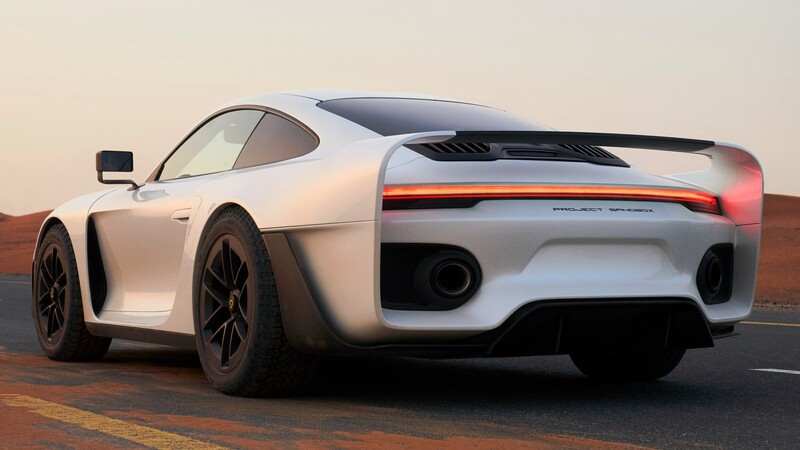Gemballa Marsien, el Porsche 911 hecho para el offroad