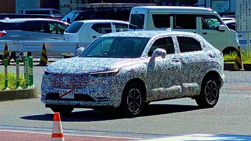 La nueva generación de Honda HR-V ya está en desarrollo