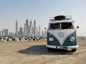 Tributo artístico a la Volkswagen Combi en Brasil