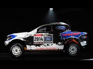 Ford Ranger con motor V8 de Mustang participará en Dakar 2014