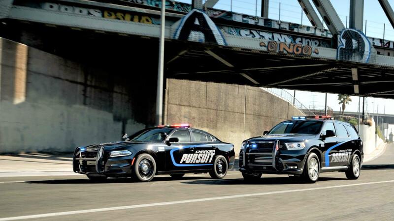 Así son los nuevos modelos Dodge para la policía