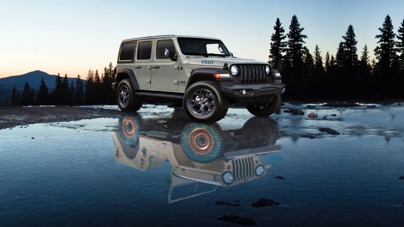 Jeep Wrangler Willys Edition: Para rememorar los inicios de la marca