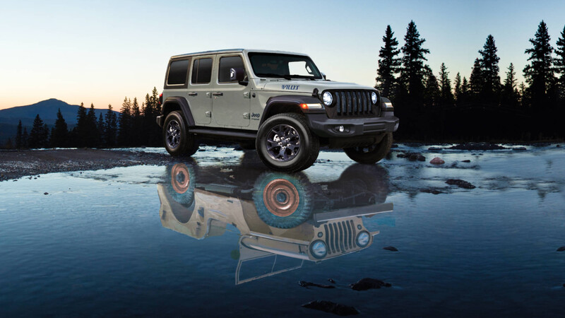 Jeep Wrangler Willys Edition: homenaje al origen