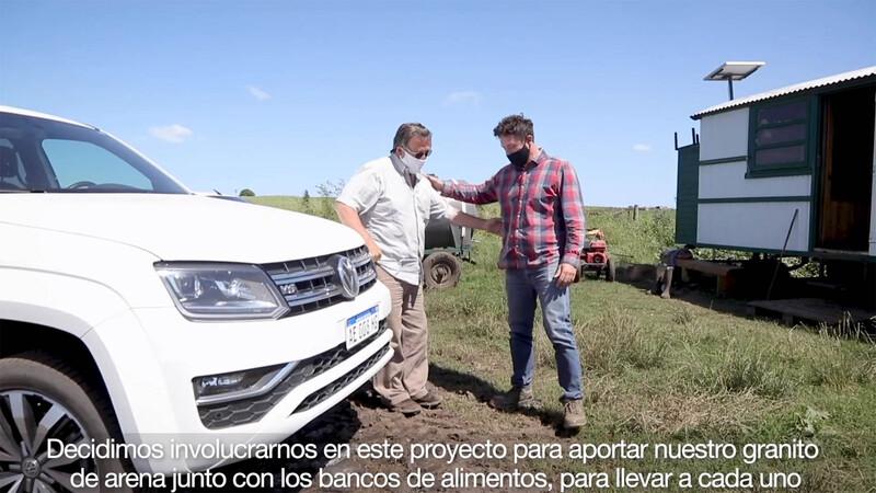 Volkswagen Argentina, BASF y Banco de Alimentos Balcarce se unen para la recuperación de alimentos