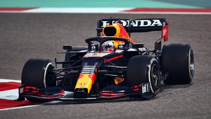 F1 2021: Max Verstappen, el dueño del viernes en Bahrein
