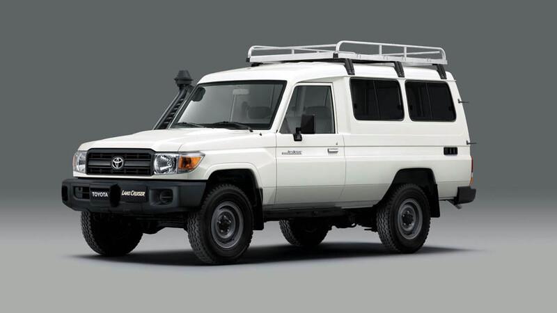Un Toyota Land Cruiser preparado especialmente para transportar vacunas fue aprobado por la OMS