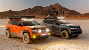 Volkswagen Atlas se hace presente en el SEMA Show con tres variantes off-road