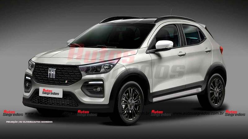 ¿Será así el nuevo SUV chico de FIAT?