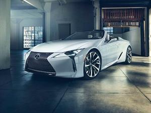 Lexus LC Convertible Concept debuta